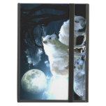 Full Wolf Moon iPad Case