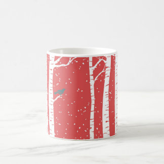 Full Wrap Christmas Classic White Coffee Mug