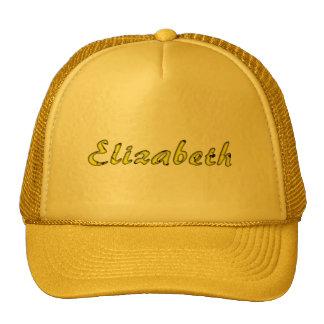 Full yellow cap for Elizabeth Hat