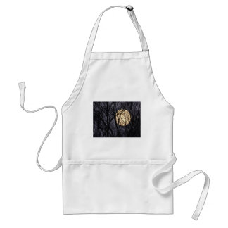 Full Yellow Mooon Adult Apron