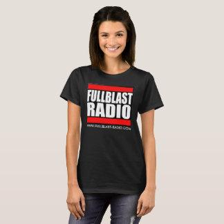 Fullblast Radio Logo Dark T- Women's Basic T-Shirt