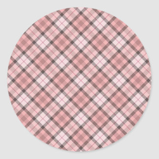 Fullbreed Custom Black/Pink Bulberry Classic Round Sticker