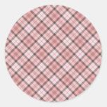 Fullbreed Custom Black/Pink Bulberry Classic Round Sticker
