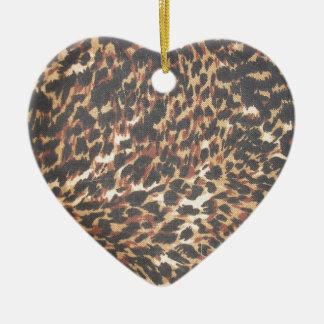 Fullbreed Custom Cheetah Print Ceramic Ornament