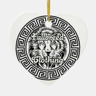 Fullbreed Custom Clothing Usa Ceramic Ornament