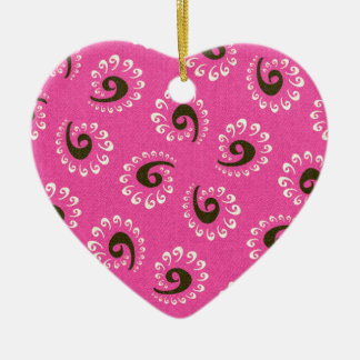 Fullbreed custom Pink Vandana Ceramic Ornament