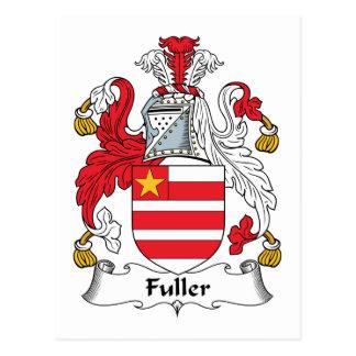 Fuller Family Crest Postcard