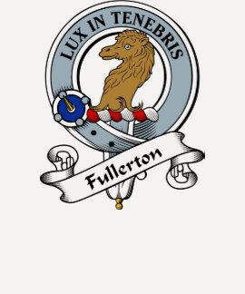 Fullerton Clan Badge T-shirts