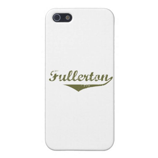 Fullerton Revolution t shirts Cover For iPhone 5/5S