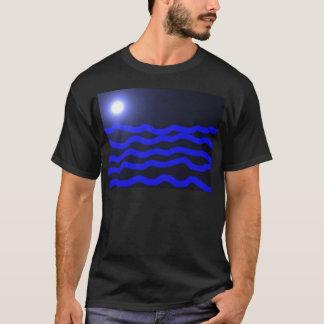 Fullmoon Over the ocean T-Shirt