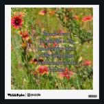 "Fullness of Joy Wall Decal<br><div class=""desc"">Floral Photo: Fullness of Joy</div>"