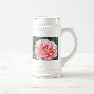 Fully Blooming Pink Rose Mug