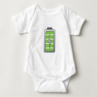 Fully Charged Battery Baby Bodysuit