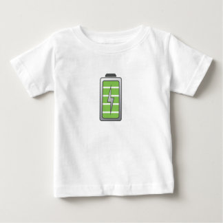 Fully Charged Battery Baby T-Shirt