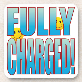 Fully Charged Life B Drink Coaster