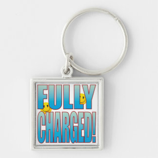 Fully Charged Life B Keychain