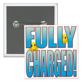 Fully Charged Life B Pinback Button