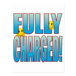 Fully Charged Life B Postcard