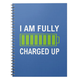 Fully Charged Notebook