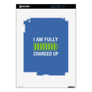 Fully Charged Skin For The iPad 2