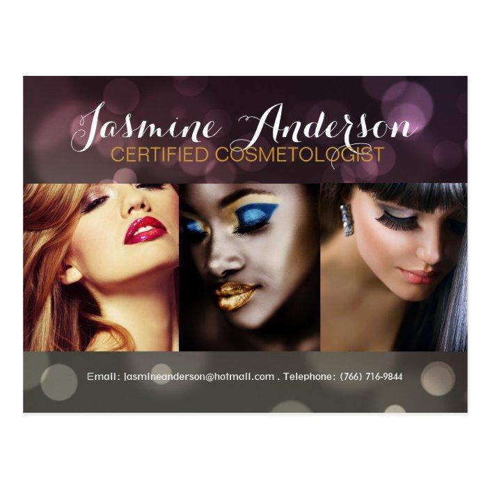 Fully Customizable Makeup Artist Comp