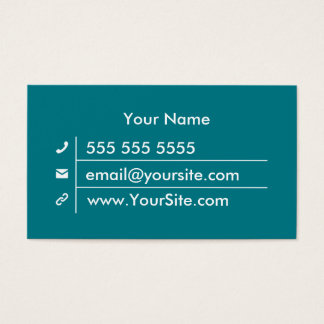 Fully Customizable Minimal Business Cards