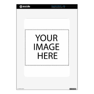 Fully Customizable YOUR IMAGE HERE Skins For The iPad