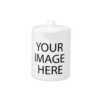 Fully Customizable YOUR IMAGE HERE Teapot