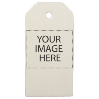 Fully Customizable YOUR IMAGE HERE Wooden Gift Tags