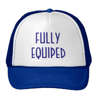 Fully Equiped Trucker Hat