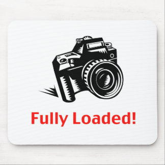 Fully Loaded Camera Mouse Pads