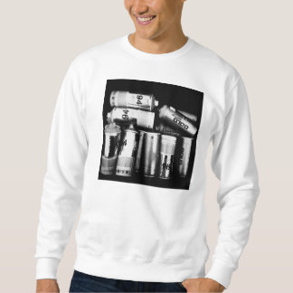 """Fully Loaded"" White Crewneck Sweater"