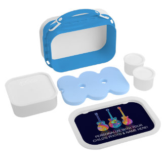 FULLY PERSONALIZABLE GUITAR LUNCH BOX
