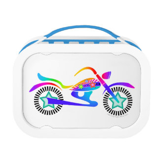 FULLY PERSONALIZABLE MOTORCYCLE LUNCH BOX