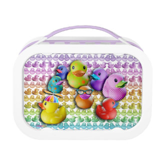 FULLY PERSONALIZABLE Rubber Ducky Yubo Lunch Box