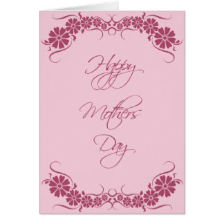 Fully personalized beautiful Mother's Day card