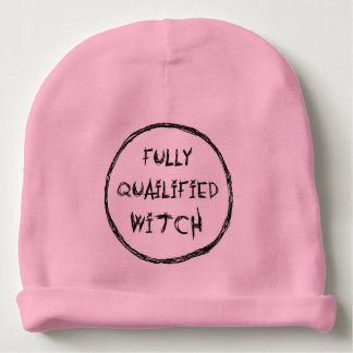 Fully Qualified Witch Baby Beanie