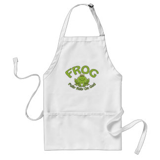 Fully Rely On God Adult Apron
