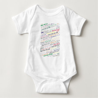 Fully Rely on God Baby Bodysuit