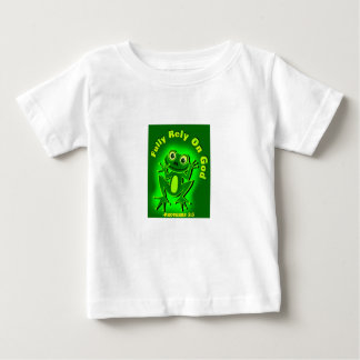 Fully rely on God Frog Baby T-Shirt