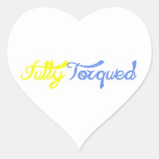 Fully Torqued! Heart Sticker