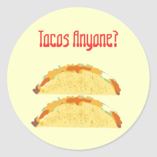 Fullyloaded, Fullyloaded, Tacos Anyone?, Tacos ... Classic Round Sticker