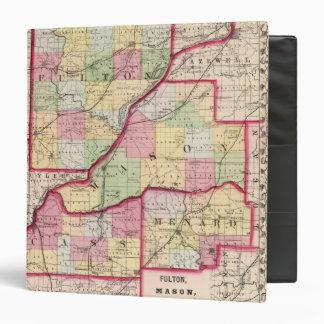"Fulton, albañil, Cass, condados de Menard Carpeta 1 1/2"""