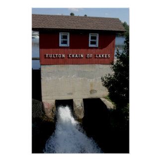 Fulton Chain of Lakes Poster