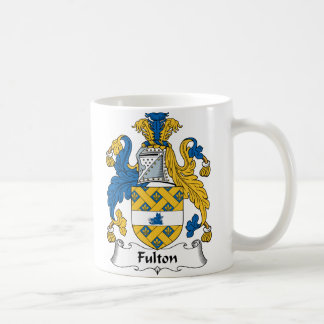 Fulton Family Crest Coffee Mug