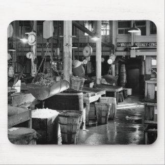 Fulton Fish Market, 1954 Mouse Pad