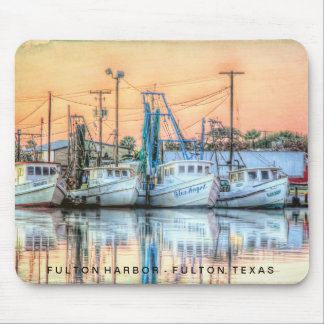 """Fulton Harbor Icons"" Mouse Pad"
