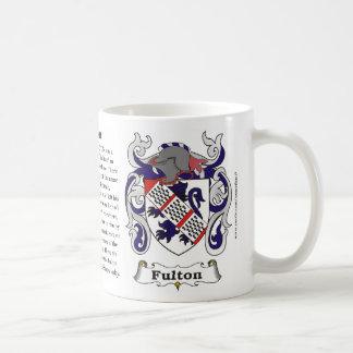 Fulton, la historia, el significado y el escudo taza