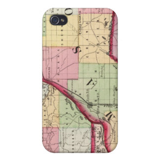 Fulton, Mason, Cass, Menard counties iPhone 4 Cover
