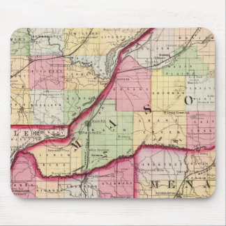 Fulton, Mason, Cass, Menard counties Mouse Pad